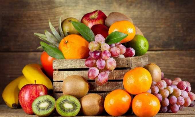 В фруктах содержится большое количество витаминов, которые предупреждают развитие проблем с щитовидной железой