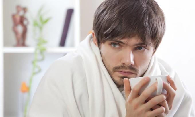 Озноб - признак гипотиреоза у мужчин