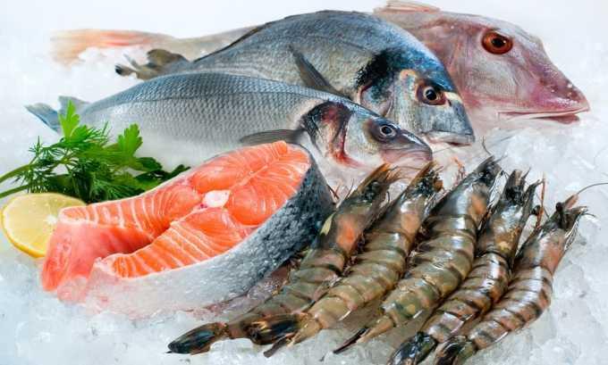 Морская рыба содержит большое количество йода, который необходим для щитовидной железы