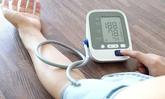 Применять средство рекомендуется при высоком артериальном давлении