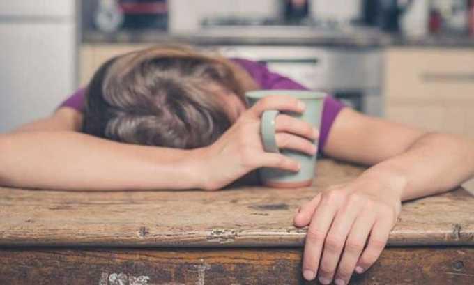 Прием гормона может стать причиной общей слабости