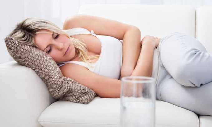 Во время приема лекарства возможна негативная реакция органов ЖКТ