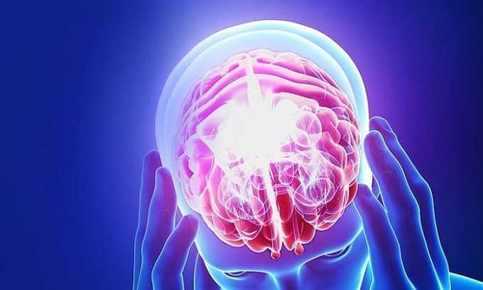 Препарат назначают в составе комплексной терапии при поражениях головного мозга