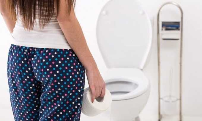 Не исключено появление побочных эффектов в виде диареи