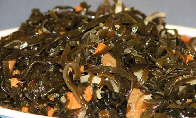 Пары столовых ложек морской капусты в день хватает, чтобы заменить полезный для щитовидной железы препарат Йодомарин