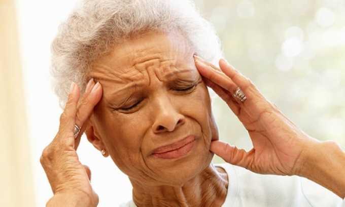 Иногда после приема Левокарнила может появиться головная боль