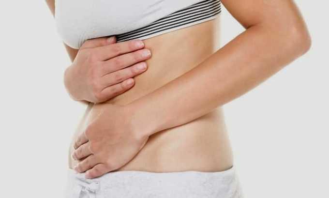 Передозировка Элькаром может повлечь ощущение боли в животе