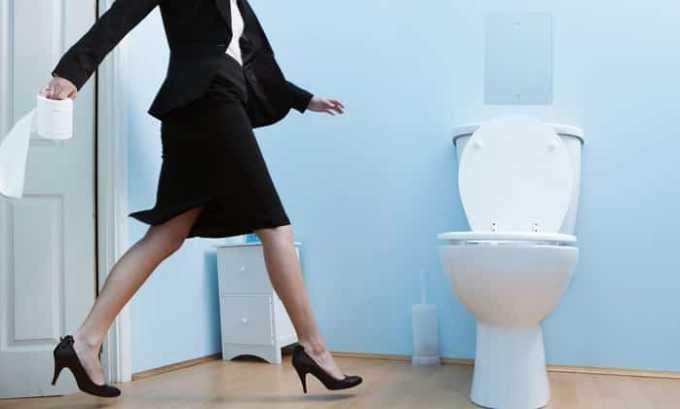 При разовом превышении суточной нормы появляется расстройство стула
