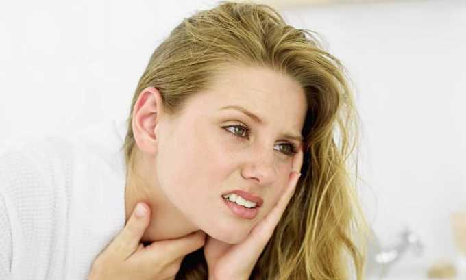 Рак щитовидной железы сопровождается сильными тянущими болями