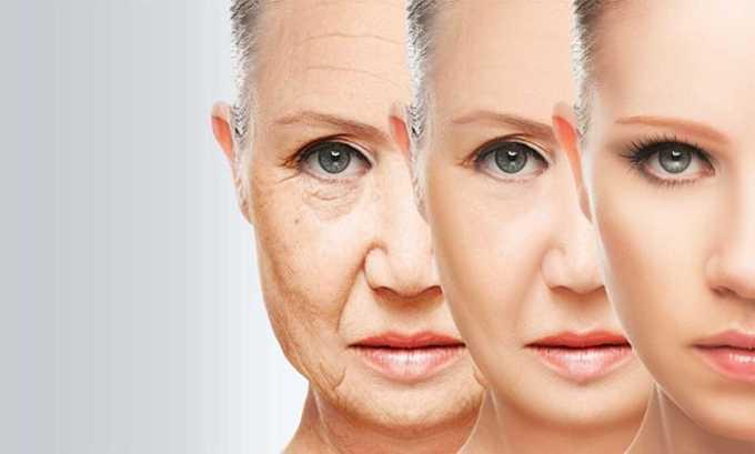 Л-карнитин употребляют для замедления старения, замедляется процесс разрушения нервных клеток