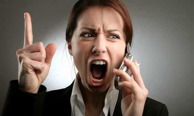 Нервозность – один из симптомов при заболевании щитовидки