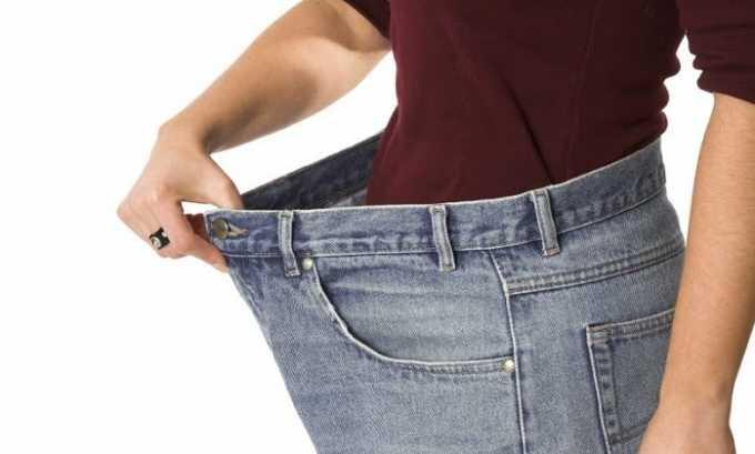 Паталогическое состояние сопровождается потерей веса