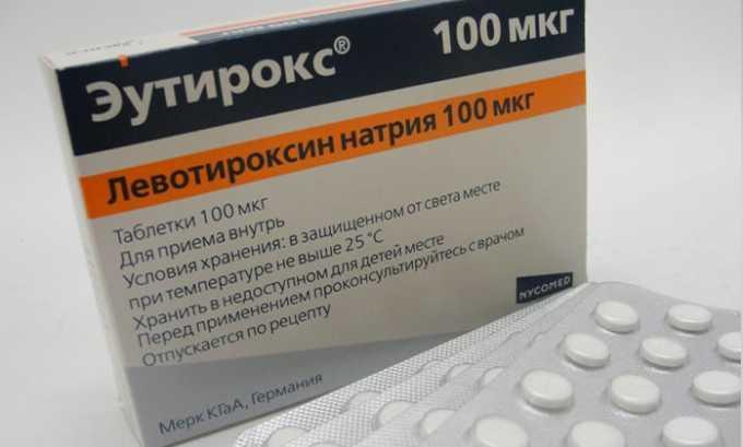 К эффективным средствам при лечении гипотиреоза относится Левотироксин - синтетическая натриевая соль тироксина