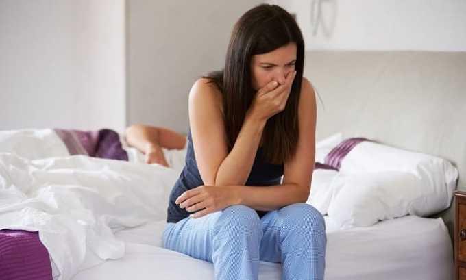 При нарушении нормального дозирования средства может возникнуть тошнота