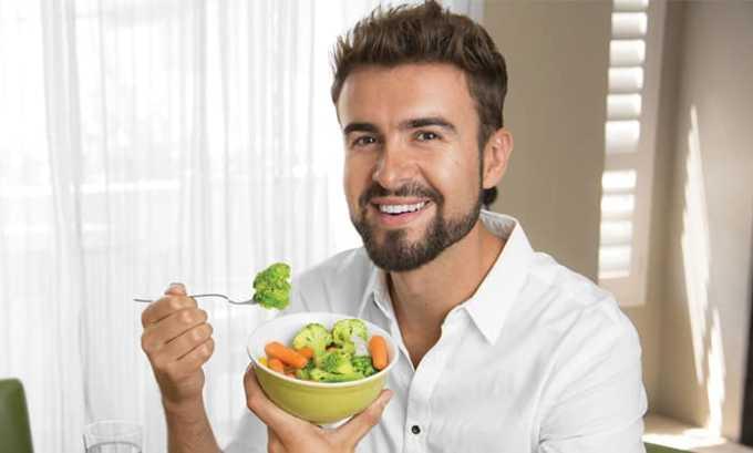 При переходе на вегетарианское питание, при полном отказе от мяса организму требуется дополнительно получать левокарнитин из других источников