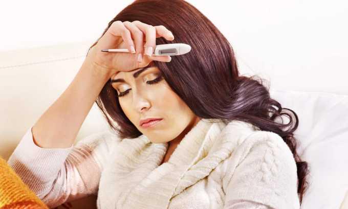 Повышение температуры и частые болезни могут сопровождать болезни щитовидки