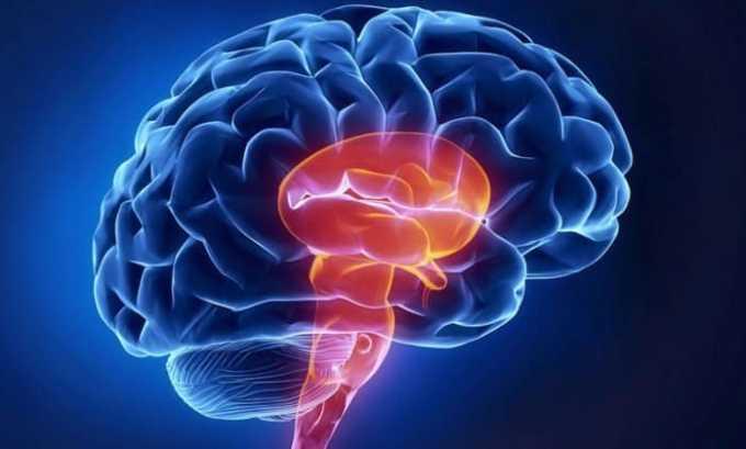 Препарат положительно влияет на клетки при кислородном голодании, применяется во время острого нарушения мозгового кровообращения