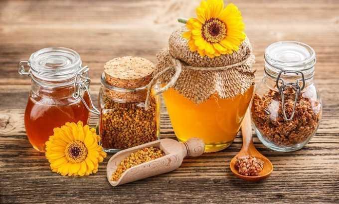 Для восстановления работы надпочечников назначают прием пчелиной пыльцы