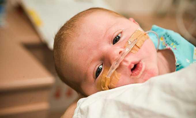 Левокарнил назначается при необходимости в восстановлении недоношенных новорожденных детей