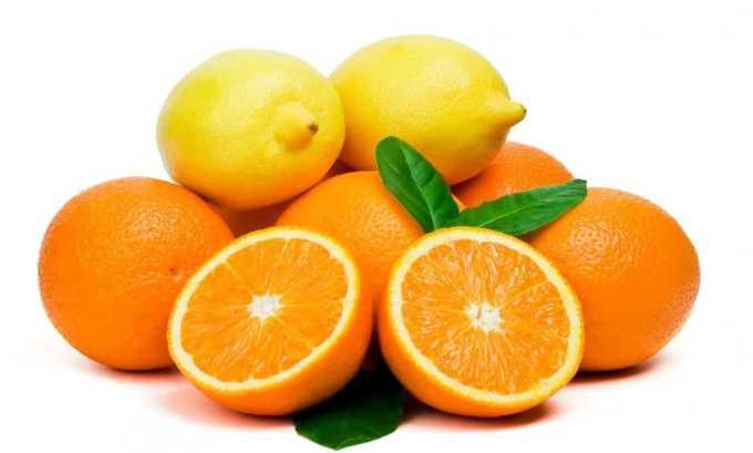 Эффективным народным рецептом является измельченный на терке лимон или апельсин