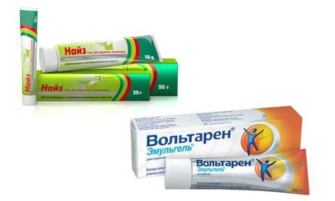 Найз гель и Вольтарен содержат разные активные компоненты: первый - нимесулид, второй – диклофенак, действуют препараты одинаково