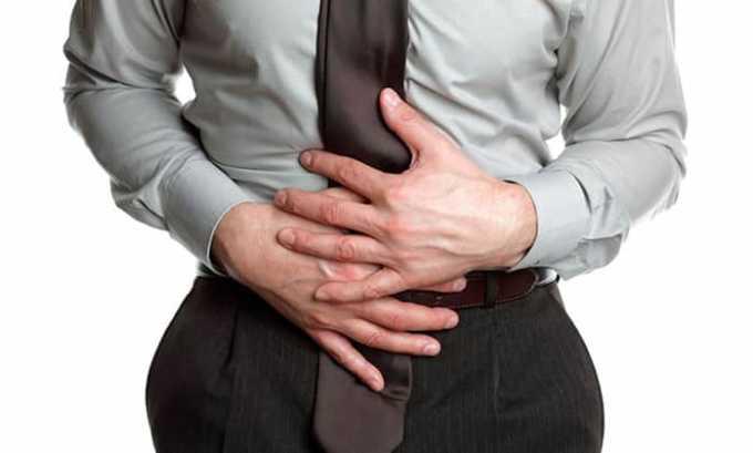 При приеме препарата может нарушаться работа кишечника