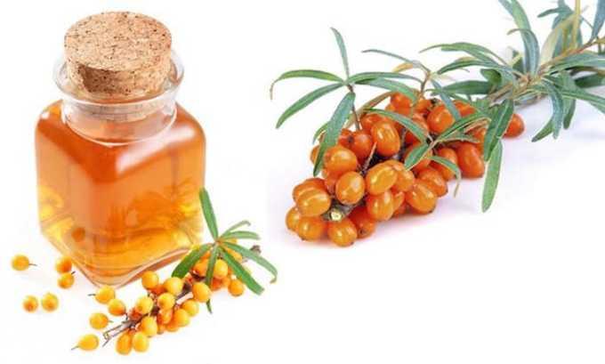Облепиховое масло богато витамином Е