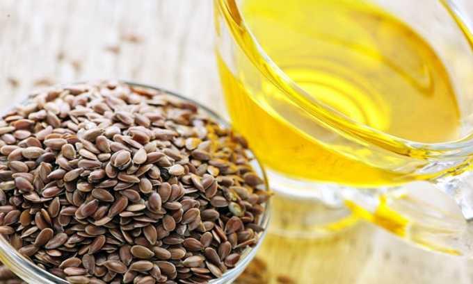 Льняное масло можно прикладывать на ночь в область шеи