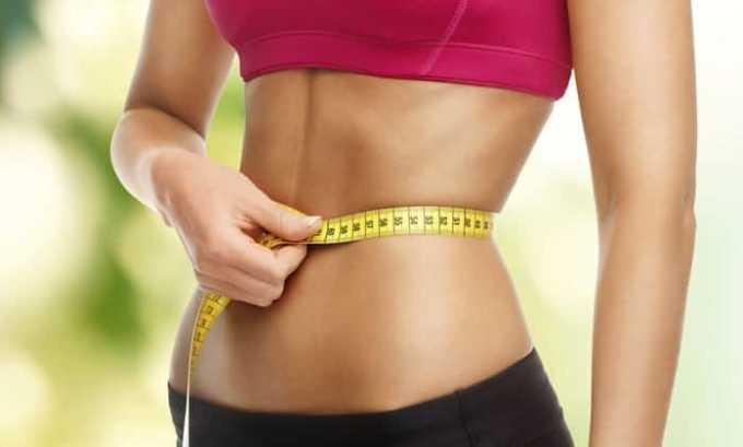 При чрезмерном употреблении лекарства может проявляться потеря веса
