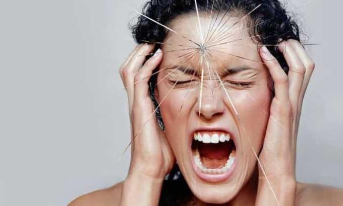 Дарвилол следует принимать при нервозах, сопровождающихся излишней раздражительностью