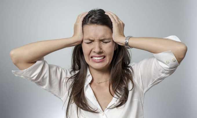 Прием лекарства может вызывать головную боль