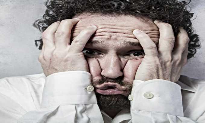 После применения спрея интраназально у пациента наблюдаются головная боль