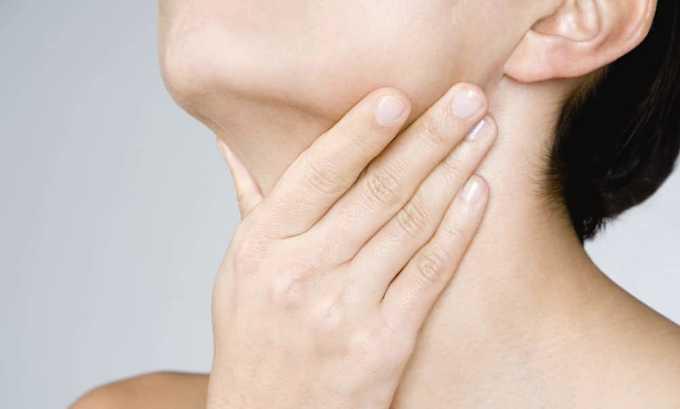 При профилактических осмотрах нужно учитывать наличие симптома - увеличение лимфоузлов