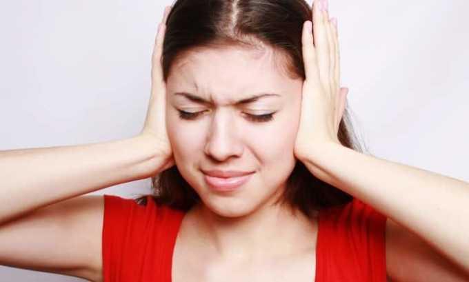 Звон в ушах может быть результатом побочного эффекта препарата Метопролол