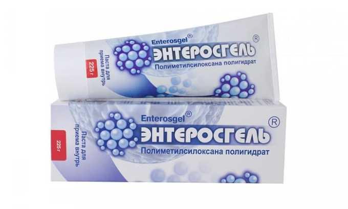 При передозировке препарата следует принять Энтеросгель