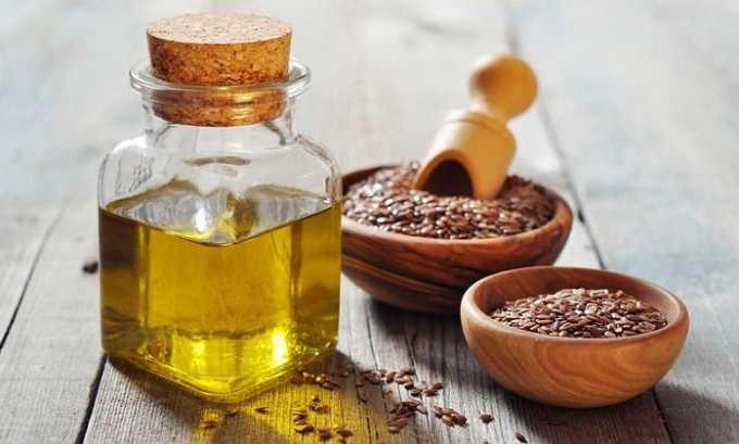 Токоферол содержит льняное масло