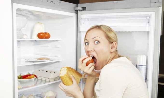 Постоянное чувство голода, сопровождающееся снижением веса, характерно при наличии зоба щитовидной железы