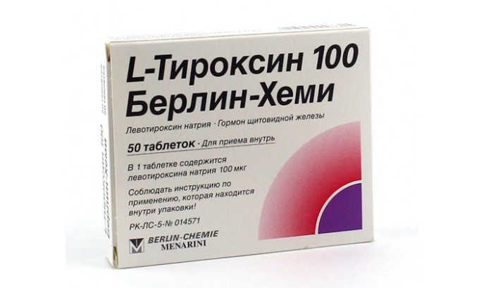 С осторожностью рекомендуется принимать Тироид одновременно с препаратом Тироксином