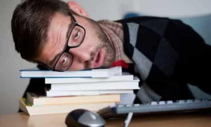 Препарат вызывает побочное явление в виде хронической усталости