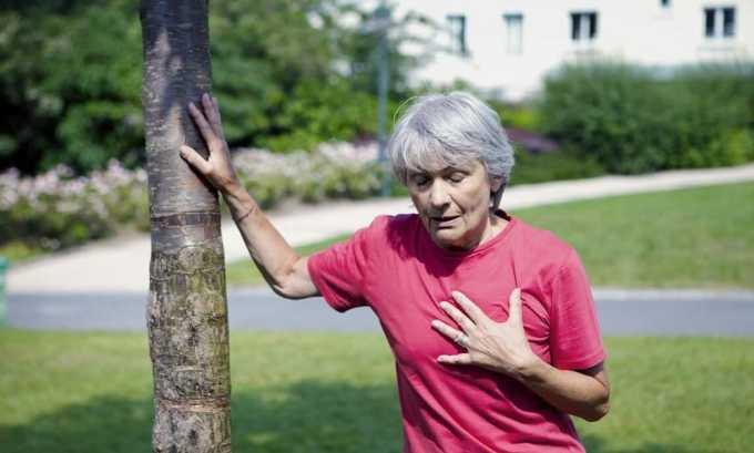 Наиболее распространенный симптом увеличения щитовидной железы - одышка