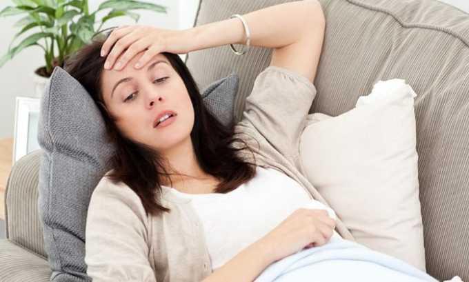 Побочным действием препарата могут быть головные боли