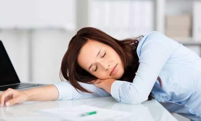 Также иногда препарат вызывает сонливость