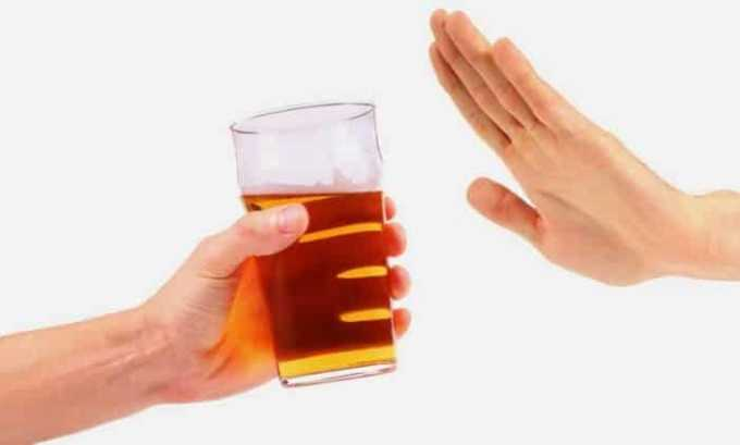За неделю до сдачи анализа исключаются из рациона напитки с содержанием спирта
