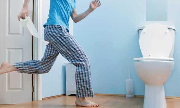 Частые позывы в туалет могут возникнуть после применения препарата