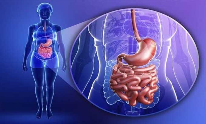 Диклофенак противопоказан при заболеваниях желудочно-кишечного тракта