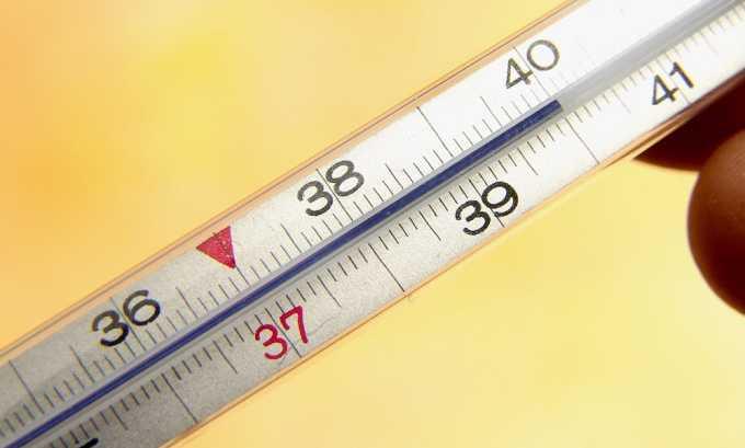 Повышение температуры тела - симптом подострого тиреоидита
