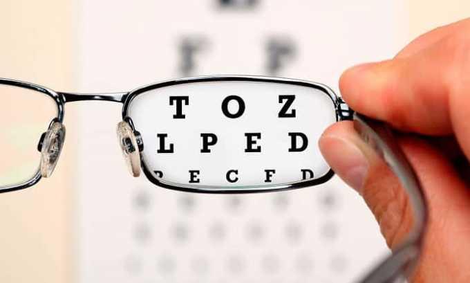 Во время использования капель может наступить кратковременное ухудшение зрения