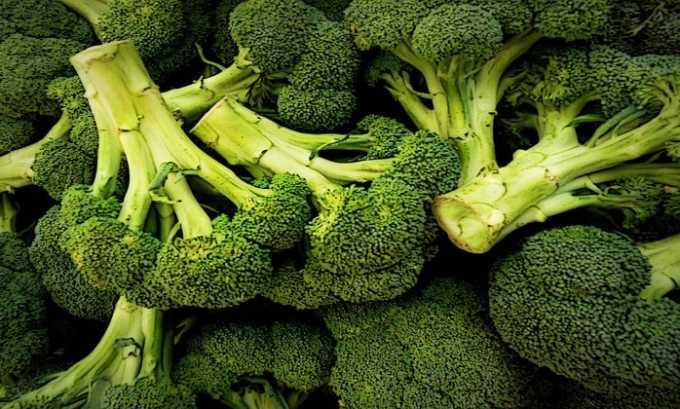 Брокколи считается природным источником витамина Е