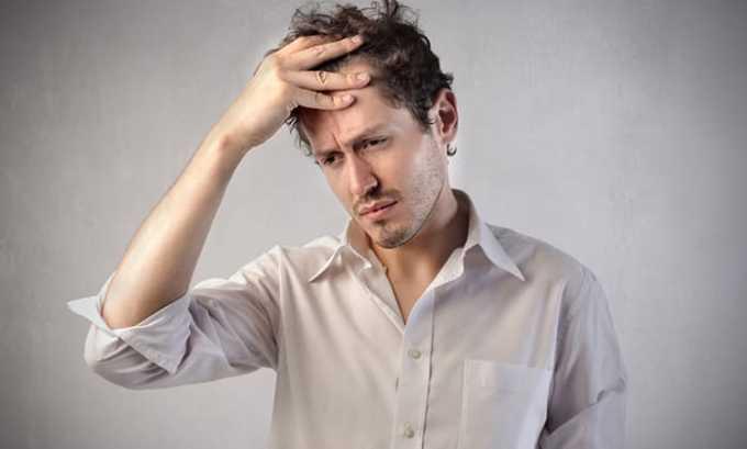 Также применение Келикса провоцирует появление головной боли