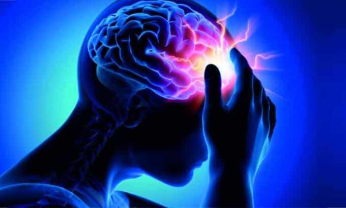 Побочными эффектами лекарства являются различные нервные нарушения